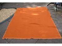 XL ORANGE Military Wool Blanket