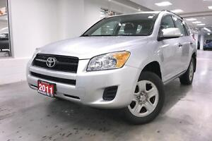 2011 Toyota RAV4 4WD, PWR GROUP, ONE OWNER, FULLY SERVICED, LOW