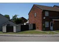 2 Bed semi-detached un-furnished house.