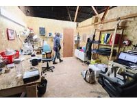 Light Industrial Workshop Space | 169 sq ft | Creative Building | Flexible Contract | Studio 2