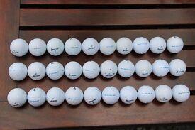 30 Used Srixon AD333 Golf Balls in Good Condition