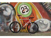 GOKU CYCLES Steel Frame Single speed road bike TRACK bike fixed gear fixie racing bike dt