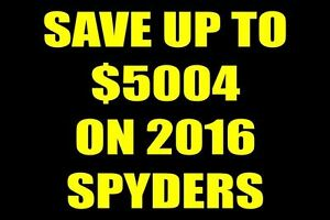 2017 can-am spyder Save up to $4964 on a 2016 Spyder