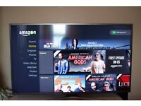 Samsung UE50JU6800 Ultra HD 4K Smart LED TV with 4 Years Samsung Warranty & Accidental Cover