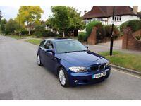 BMW 1 Series 123d M Sport 204BHP, 38K Miles, Diesel, Leather - not 116i 118d 120d 320d Golf A3 tdi