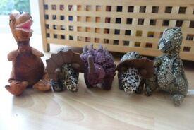 5 Small Disney Dinosaur soft toys
