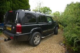 Jeep Commander 3.0 V6 CRD, 2007, only 100600 miles, 7 seats, 4x4 - *REDUCED by £350*