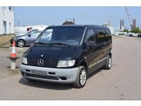 LEFT HAND DRIVE MERCEDES BENZ VITO, DRIVES VERY WELL,ENGINE&MECHANICS GREAT,BIG LOAD SPACE.CALL