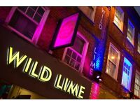 Wild Lime - Full-time and Part-Time Bar Staff Required