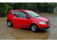 Volkswagen Fox VW 3 cheap insurance/tax door hatchback tall 98000 miles