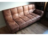 Like-new 3 seater sofa bed