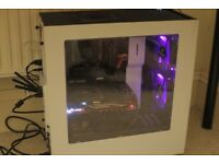 Gaming PC, Custom Built, 8-Core 4GHz Processor, 8GB GPU, 8GB RAM, 480GB SSD