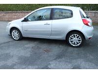 2011 RENAULT CLIO 1.2 TOM TOM DYNAMIQUE 16v SAT NAV FSH LONG MOT 1st CAR *REDUCED PRICE* £1695