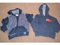 TWO HOODIES - FROM NEXT - EXCELLENT CONDITION