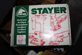 Stayer L130 1/3 Sheet Sander 240V Made in Italy