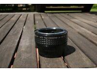 2X auto converter for Nikon