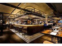 Part Time Restaurant Receptionist - Spitalfields