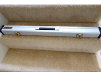 Aluminium Cue Case (for two piece snooker / pool cues)