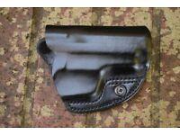 Genuine Leather - UK Police Pistol Holster Sleeve