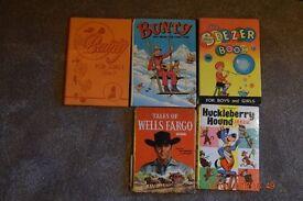 Vintage Comic Annuals 1960 onwards