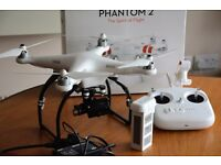 **AMAZING CONDITION** DJI Phantom 2 With Zenmuse H3-3D Gimbal For GoPro