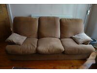Heal's family sofa, good condition, 1980s vibe, selling to clear