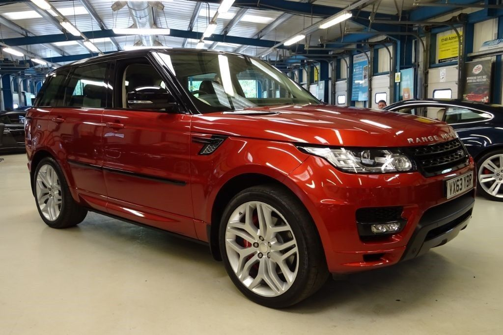 land rover range rover sport v8 autobiography dynamic firenze red metallic 2013 in reading. Black Bedroom Furniture Sets. Home Design Ideas