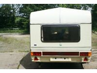 Abi Jubilee Courier Caravan in Excellent condition Plus full width Trio cabriola awning