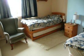 Oakley, Basingstoke. Large twin room for rent in 4 bed detached house