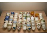 bulk lot of teacups and saucers, wedding