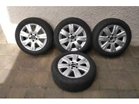 Meercedes Alloy Wheels and Winter Tyres