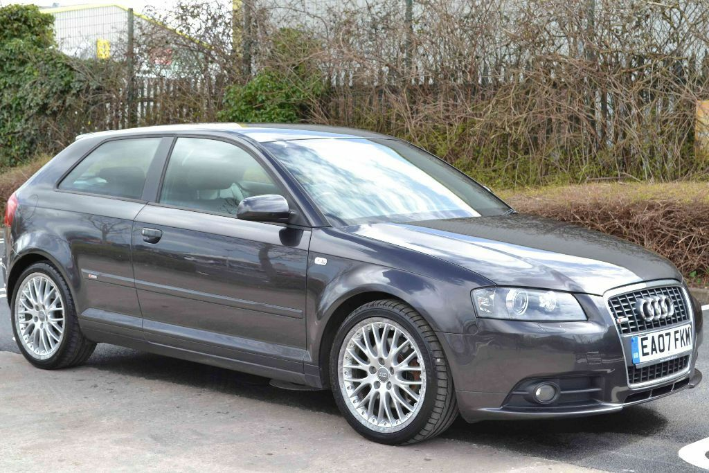 2007 audi a3 s line 170 quattro 4x4 6 speed manual. Black Bedroom Furniture Sets. Home Design Ideas