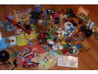 Big box of novelty/joke toys - hours of fun