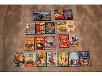 Childrens DVD's x 21 (Job Lot), Disney, dream Works & Universal