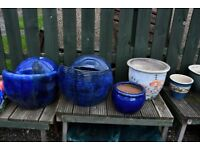VARIOUS PLANT POTS FROM £2