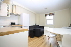 Airy two double bedroom apartment in New Cross, close to local amenities and transport links.