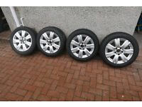 "Genuine Mercedes 16"" Alloys & Winter Tyres"