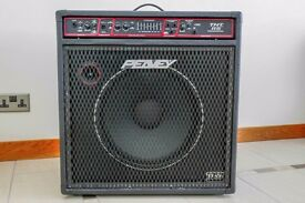 """Peavey TNT 115 bass combo with 15"""" heavy duty black widow speaker"""