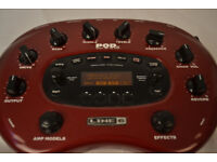 Line6 PodXT guitar effects processor