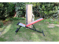 YORK FITNESS Adjustable Exercise Bench, Excellent Condition