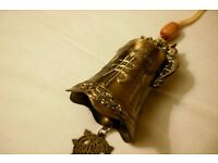 Wonderful Chineese Dragonn FENG SHUI good fortune BELL - CHARITY SALE