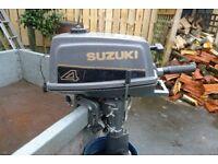 SUZUKI 4HP OUTBOARD ENGINE