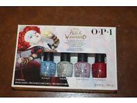 Alice In Wonderland OPI Nail varnish set