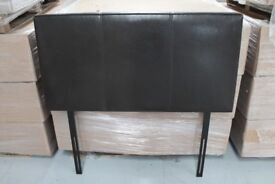 Brown small double 4FT headboard