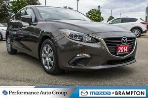 2014 Mazda MAZDA3 GX-SKY|BLUETOOTH|BUCKETS|PWR STEERING|CD|KEYLE