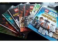 Lego Star Wars kids books x 10