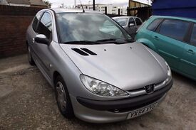 2004 Peugeot 206 1.2 S *** NEEDS A CLUTCH *** NON RUNNER *** for spares or parts