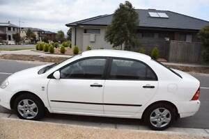 2006 Toyota Corolla Sedan Ascent ZZE122R White Automatic Epping Whittlesea Area Preview