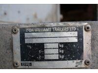 Ifoe Williams plant trailer
