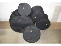 Galaxy Range Drum Kit Cases by Humes and Berg - 10in + 12in + 14in Toms + 22in Bass + 14in Snare